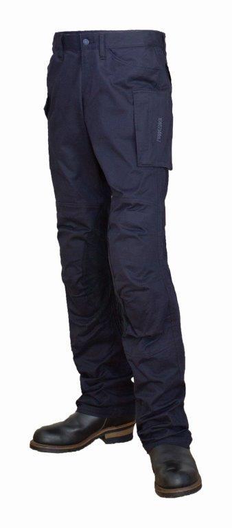 【メンズ】PP-9201【ネイビー】【Mサイズ】コットンカーゴパンツ パワーエイジ【ストレッチ】【膝・腰プロテクター標準装備】