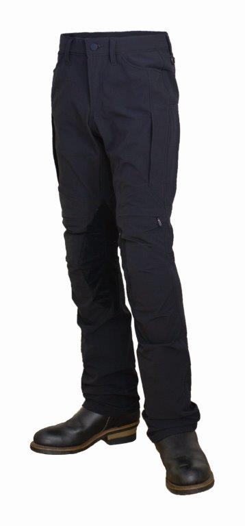 【あす楽】【メンズ】PP-9202【ブラック】【XLサイズ】コンフォートパンツ パワーエイジ【ストレッチ】【ベンチレーション】【膝・腰プロテクター標準装備】