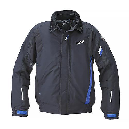 YAF55K【ブラック】【LLサイズ】Motoウィンターライディングジャケット ヤマハ×クシタニ【防水】【防寒】【防風】【肩・肘・背中プロテクター標準装備】