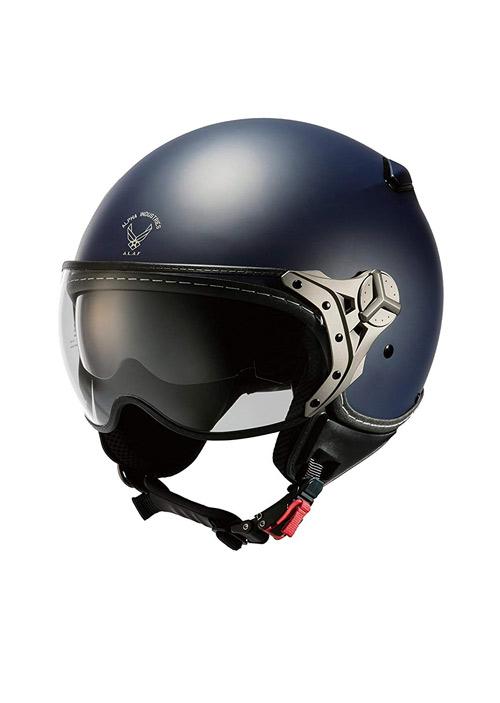 【あす楽】ALVH-1601【マットネイビー】パイロットヘルメット
