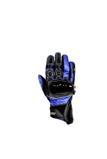 あす楽 流行 メンズ ELG-7283 ブルー LLサイズ ナイロングローブ スマホ対応 ナックルカップ 防寒 エルフ 新商品 新型 防水