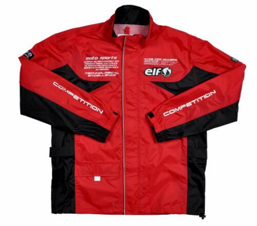 2021SS お値打ち価格で エルフ elf レインスーツ バイク 安売り レッド 4Lサイズ ELR-3291 メンズ