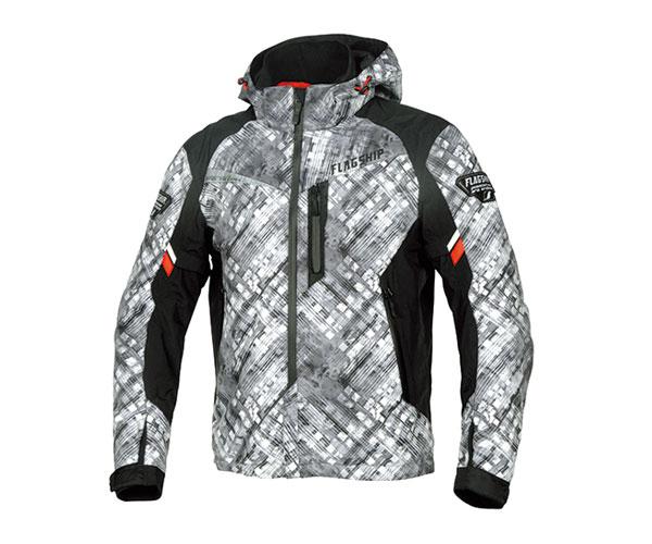 2021FW フラッグシップ FLAGSHIP アドバンスドGPCパーカー バイク スーパーセール ジャケット メンズ 店 秋冬 FJ-W194 Lサイズ グレー