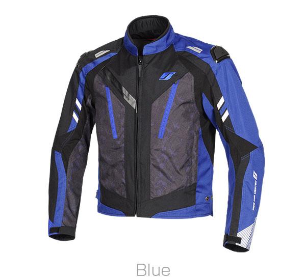 2021SS フラッグシップ FLAGSHIP ムーブアラウンドジャケット バイク 最新アイテム 低価格化 メンズ FJ-A204 LLサイズ ブルー