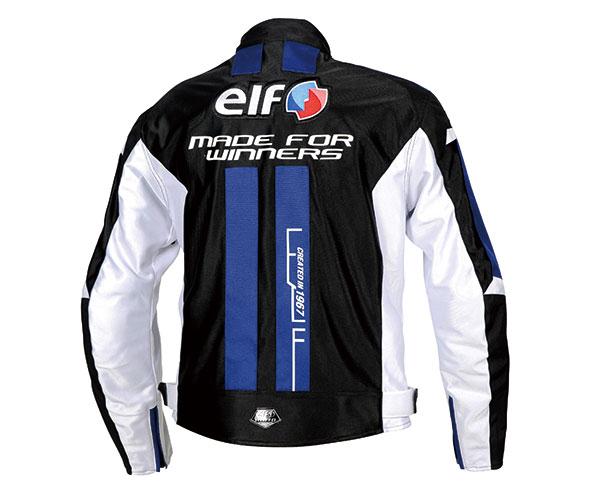 2021SS あす楽 エルフ elf イデアールメッシュジャケット お買い得品 バイク ブラック EJ-S103 ブルー 春夏 入荷予定 Mサイズ メンズ