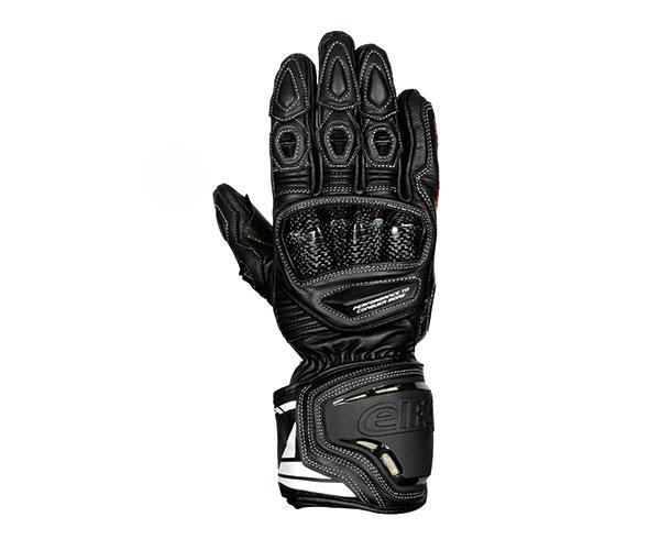 大放出セール 2021SS エルフ elf ハイコンプグローブ 保障 バイク ブラック メンズ EG-A504 レザー LLサイズ