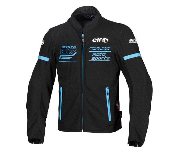 エルフ/elf フレッドメッシュジャケット メンズ/通気性/軽量 ブルー LLサイズ EJ-S102