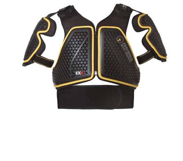 EX-Kハーネス・フライトプラス【Lサイズ】フォースフィールド プロテクター【脊髄】【胸部】【肩】【全部位CEレベル2】