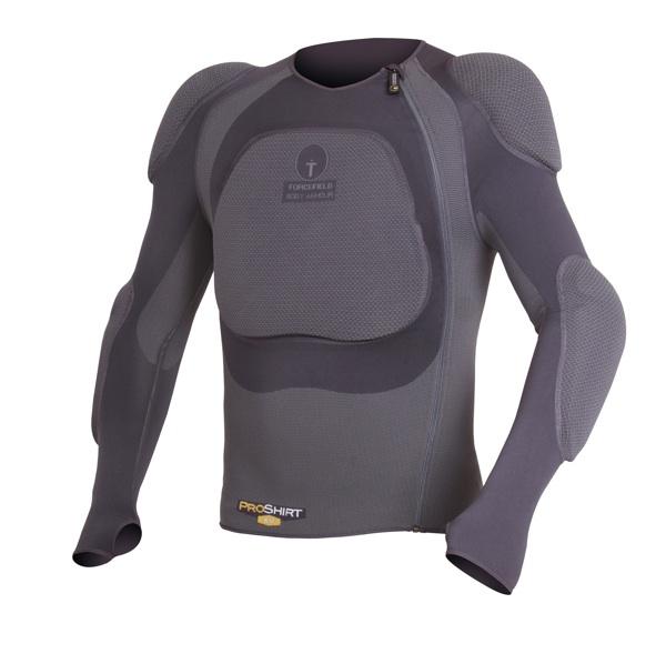 プロ シャツX-V【XSサイズ】インナープロテクター フォースフィールド【脊髄・胸部CE LEVEL2】【肩・肘CE LEVEL1】
