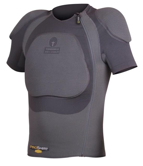 プロ シャツX-V-S【Lサイズ】インナープロテクター フォースフィールド【脊髄・胸部CE LEVEL2】【肩CE LEVEL1】