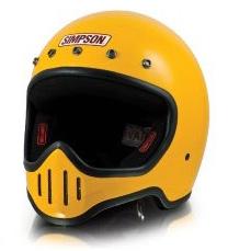 【あす楽】MODEL 50【イエロー】ヘルメット シンプソン 【復刻モデル】【M50】【専用バイザー別売り】【店頭受取対応商品】