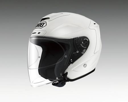 【あす楽】J-FORCE4 ルミナスホワイト ショウエイ/SHOEI【ジェットヘルメット】【店頭受取対応商品】