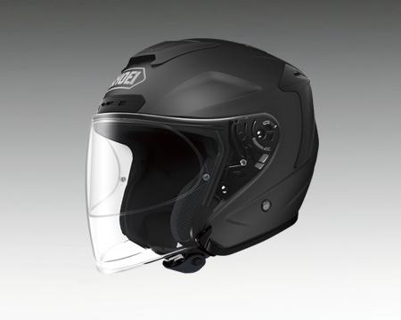 【あす楽】J-FORCE4 マットブラック ショウエイ/SHOEI【ジェットヘルメット】【店頭受取対応商品】