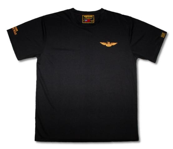 2021SS あす楽 VANSON バンソン メッシュTシャツ 人気ブレゼント バイク Lサイズ イエロー VS21806S ブラック メーカー公式 メンズ 春夏