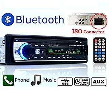 【中古】Eaglerich 自動車ラジオ Bluetooth 車音響 カーオーディオ ステレオ プレーヤー リモコン付き 1 Din 12V