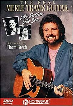 中古 Real Merle Travis 全品最安値に挑戦 Guitar: DVD Father Import Like 特価 Son