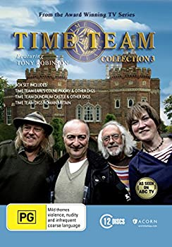 通信販売 中古 Time Team 海外並行輸入正規品 3 DVD Collection