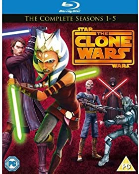 中古 公式通販 Star Wars Clone スーパーセール期間限定 - Season Import Blu-ray 1-5