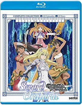 <title>中古 Sword Oratoria Is It Wrong To Try Pick Up Girls In NEW A Dungeon? On The Side Blu-Ray ソード オラトリア ダンジョンに出会いを求めるのは</title>