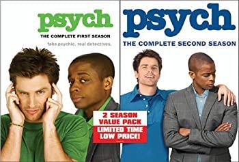 中古 Psych: Complete First Second [並行輸入品] Seasons 限定タイムセール DVD