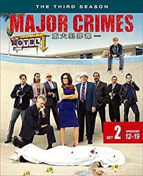 セットアップ 中古 MAJOR CRIMES ~重大犯罪課 3rdシーズン 後半セット 2枚組 割引も実施中 12~19話 DVD
