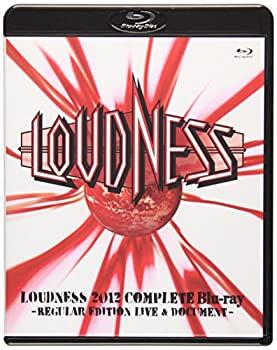 中古 LOUDNESS 2012 感謝価格 Complete 爆買い送料無料 Blu-ray DOCUMENT- LIVE EDITION -REGULAR