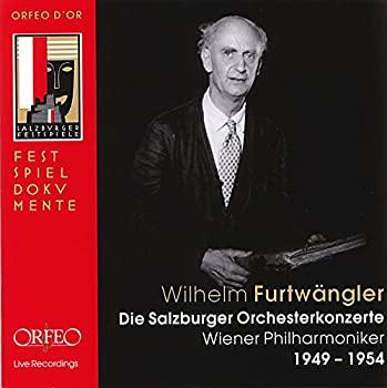中古 Wilhelm Furtwangler - 通販 Salzburger Orhesterkonzerte Die 日本限定 1949-1954