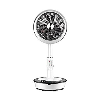 GXYAWPJ 扇風機、リモコン付きプラットフォーム兼用移動ヘッドファン、7 5時間タイマー、12スピード風速家庭用およびSqGMjLUpzV