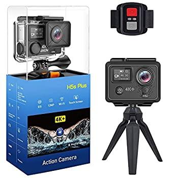中古 H5s 新作通販 4Kタッチスクリーンアクションカメラ 防水30m Ultra EISアンチシェイクダブルスクリーンリモコン付きWifi HDスポーツカメラ 防水ケース 春の新作シューズ満載