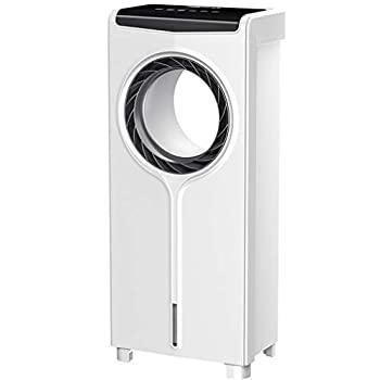 【中古】リモコンで安全家庭用蒸発空気冷却器、8時間タイマー、3スピード&3モード風力、低エネルギー&サイレントエアコンのファンのためにオフィス、ホ