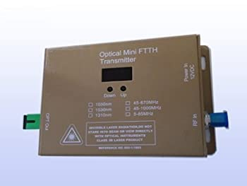 【中古】CATVファイバーミニ送信機???10?mw FTTx???壁マウント???1310?nm???商用品質