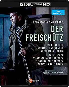 再再販! 【】ウェーバー : 歌劇 《魔弾の射手》 / クリスティアン・ティーレマン (Weber : Der Freischutz / Thielemann) [Ultra HD Blu-ray] [Import] [日本, ウエノムラ 1c3fdd10