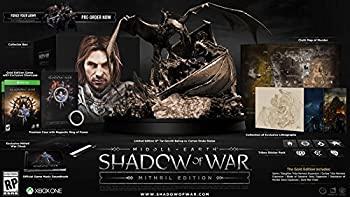 【中古】Middle-earth Shadow of War Mithril Edition XBOX One ミドルアースシャドーオブウォーミスリル版北米英語版 [並行輸入品]
