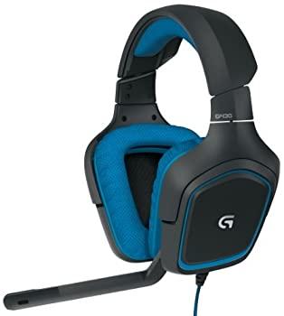 中古 Logitech G430 待望 7.1 DTS Headphone: X and トレンド Dolby Surround Sound Gaming Playstation PC for Sports-Performanc Controls Headset ? 4 On-Cable