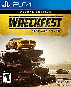 【中古】Wreckfest Deluxe Edition PlayStation 4 レックフェスト デラックスエディションプレイステーション4 北米英語版 [並行輸入品]