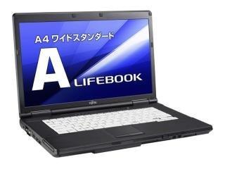 中古 FUJITSU ノートパソコン 業界No.1 A561 Windows10 搭載 第二世代Core i5搭載 新品SSD240GB搭載 未使用 15型ワイド メモリー4GB搭載 W-LAN搭載 DVD-ROM搭載