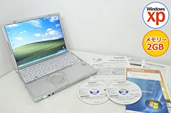 中古 中古パソコン ノートパソコン Panasonic レッツノート CF-T8 Core2Duo-1.20GHz 2GB 160GB 専門店 1024x768 ※アウトレット品 12.1型 XP搭載 リカ 無線LAN Vista選択可