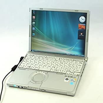 スーパーセール 中古 激安通販ショッピング 中古PC Panasonic Let's note CF-W8 2GByte 120GByte DVDマルチ 無線LAN Core2Duo