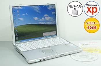 中古 パナソニック Panasonic 中古パソコン 未使用品 高品質 ノートパソコン レッツノート DVDスーパーマルチ Core2Duo-1.06GHz 80GB CF-W7 XP搭載 2GB