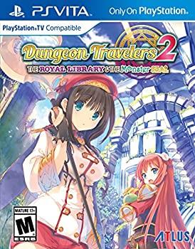 【中古】Dungeon Travelers 2 The Royal Library & the Monster Seal (輸入版:北米) - PS Vita