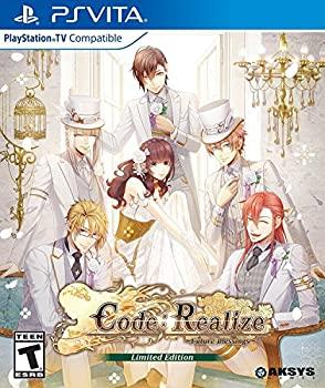 中古 Code: Realize Future Blessings - お求めやすく価格改定 モデル着用 注目アイテム Edition PS Limited Vita 輸入版:北米