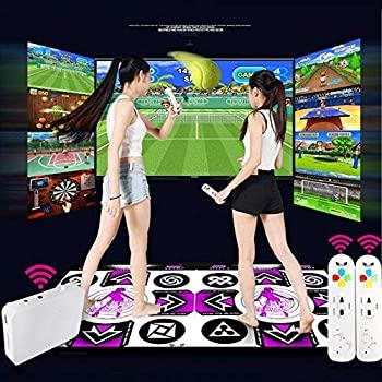 中古 注目ブランド ダンスマットルミナスダンスマットダブルプレーヤーテレビコンピュータインターフェース 高精細無線体性感覚ゲームスリミングダンサーブランケ 卸直営