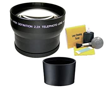 セール特別価格 中古 Olympus SP - 550?UZ 2.2高スーパー望遠レンズ + Includes必要なレンズアダプタ 5?Pieceクリーニングキット Direct 大好評です Nwv