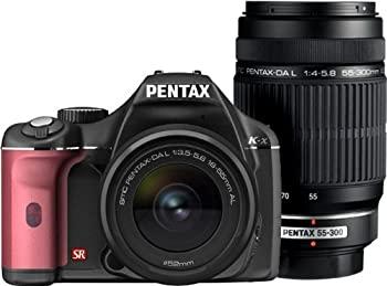 【日本製】 【 ブラック/ピンク】PENTAX K-x デジタル一眼レフカメラ K-x ダブルズームキット 003 ブラック/ピンク 003, ひらそ農園:f6cfc8a3 --- unlimitedrobuxgenerator.com