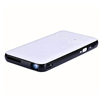 ラッピング無料 中古 『1年保証』 スマートミニポータブルプロジェクタービデオDLPホームシネマポケットプロジェクターHDサポート1080P HDMI入力デュアルステレオ