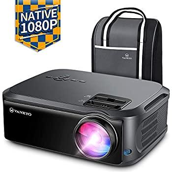 【中古】VANKYO パフォーマンス V620 ネイティブ 1080P プロジェクター 5000 Lux 200インチ ディスプレイ 50000 時間 LED テレビスティック HDMI X-Box