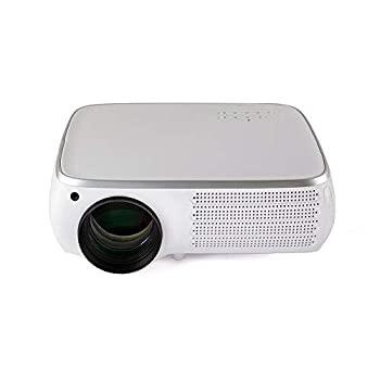 販売期間 限定のお得なタイムセール 中古 プロジェクター 1080P 4K 交換無料 HD LCDプロジェクター950ルーメン1280X800dpi 8G 3D ホームシアタービデオプロ + LEDプロジェクター携帯電話同じ画面1G