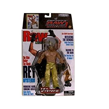 中古 REY MYSTERIO RAW UNCOVERED 並行輸入品 WWE 信頼 MAGAZINEおもちゃ 商品 AND FIGURE