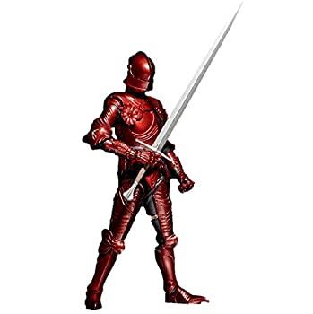 売り切れ必至! 【】タケヤ式自在置物 15世紀ゴチック式フィールドアーマー 限定版 赤(レッド) 全高約147mm PVC&ABS製 塗装済み 可動フィギュア, シャナグン f026d62a