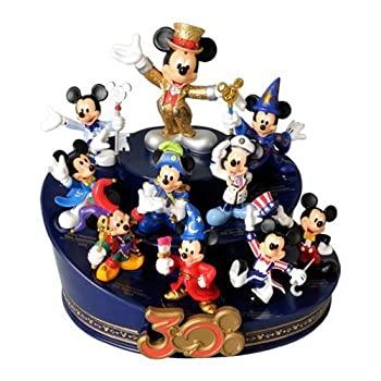 <title>中古 東京ディズニーリゾート30周年記念 ミッキーマウス 30周年ヒストリーフィギュアリン 激安通販ショッピング ザ ハピネス イヤー Disney</title>